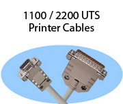 1100 / 2200 UTS Printer Cables