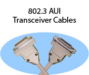 802.3 AUI Transceiver Cables