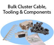 Bulk Cluster Cable, Tooling & Components