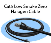 Cat5 Low Smoke Zero Halogen Cables