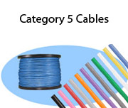 Category 5 Cables, Bulk Cable & Components