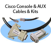 Cisco Console & AUX Cables & Kits