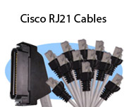 Cisco RJ21 Cables