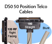 DS0 50 Position Telco Cables