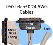 DS0 Telco50 24 AWG Cables