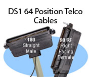 DS1 64 Position Telco Cables