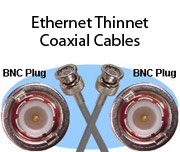 Ethernet Thinnet Coaxial Cables
