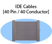 IDE Cables (40 Pin / 40 Conductor)