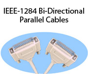 IEEE-1284 Bi-Directional Parallel Cables