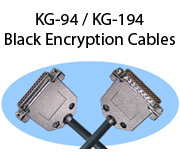 KG-94 / KG-194 Black Encryption Cables