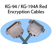 KG-94 / KG-194A Red Encryption Cables