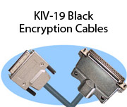 KIV-19 Black Encryption Cables