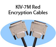 KIV-7M Red Encryption Cables