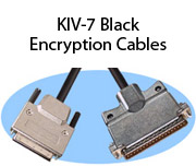 KIV-7 Black Encryption Cables