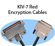 KIV-7 Red Encryption Cables