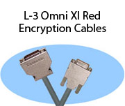 L-3 Omni XI Red Encryption Cables