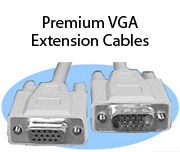 Premium VGA Extension Cables