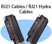 RJ21 Cables / RJ21 Hydra Cables