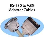 RS-530 to V.35 Adapter Cables