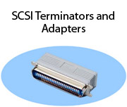 SCSI Terminators and Adapters