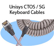 Unisys CTOS / SG Keyboard Cables