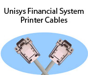 Unisys Financial System Printer Cables