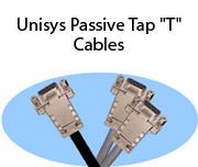 """Unisys Passive Tap """"T"""" Cables"""