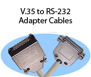 V.35 to RS-232 Adapter Cables