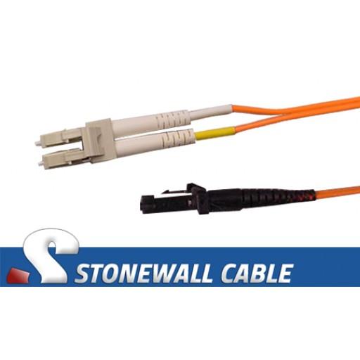 Multimode Duplex 62.5/125 MT-RJ / LC Fiber Cable