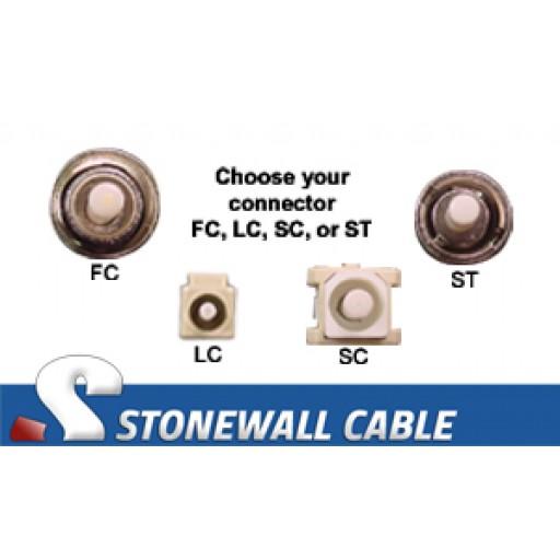 OM4 Multimode 50/125 10/40/100 Gig 24-Strand Fiber Cable