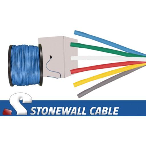 Cat5 4 Pair PVC Solid Bulk Cable