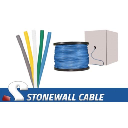 Cat5 4 Pair Plenum Solid Bulk Cable