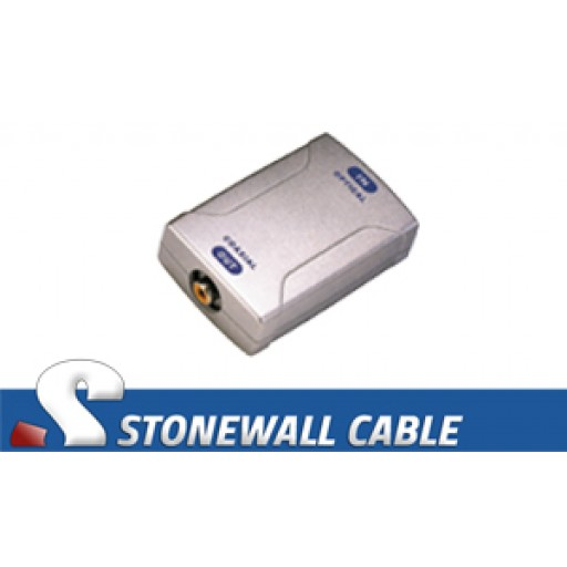 Digital Coaxial to Optical Media Converter