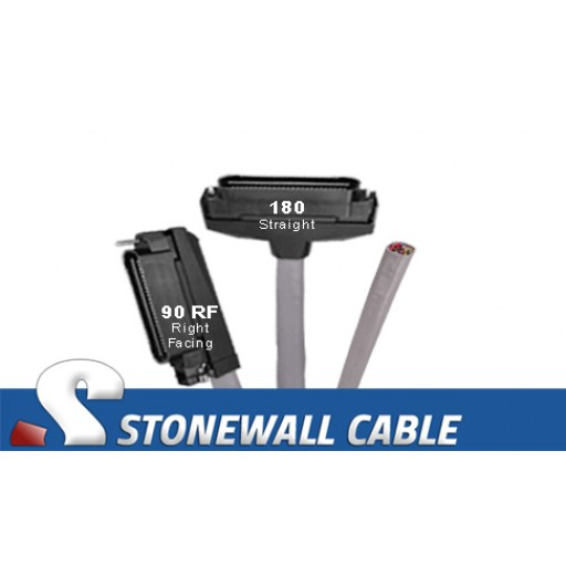 RJ21 Cable - Category 5e Telco 50 Male / Blunt