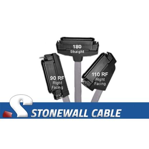 RJ21 Cable - Category 5e Telco 50 Male / Telco 50 Male