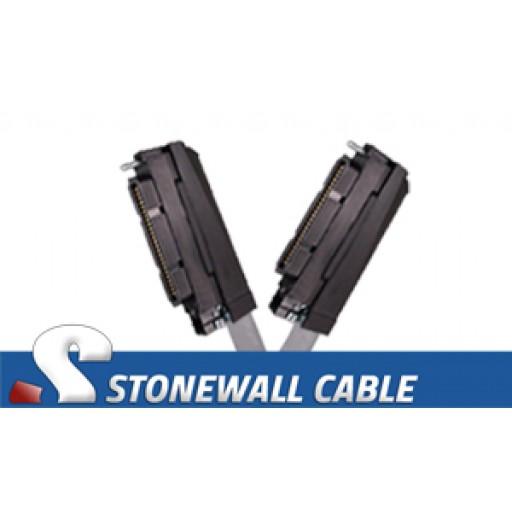 RJ21 Cable - Category 5e Telco 50 Female / Telco 50 Female