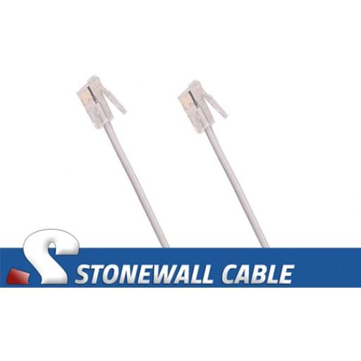 RJ9 Straight-thru Cable