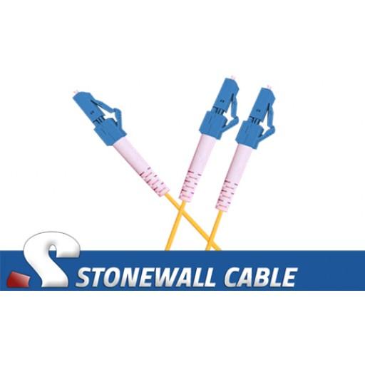 "Singlemode LC / 2 x LC Fiber Optic ""Y"" Cable"