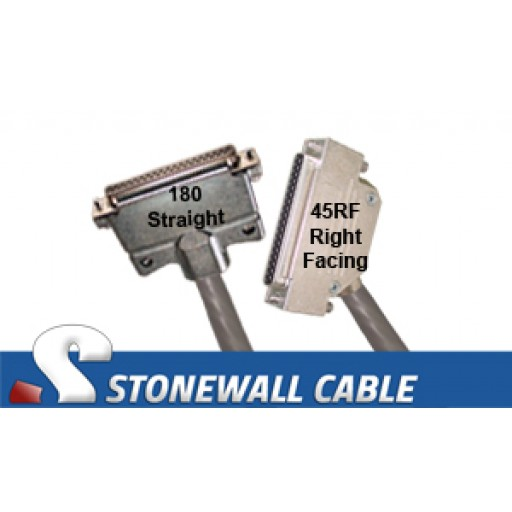 RS-449 Straight-thru Cable