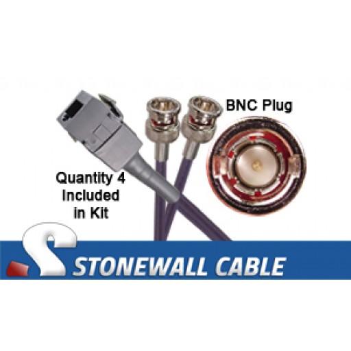 CAB-ADPT-4P-75-120 Eq. Cisco Cable Kit