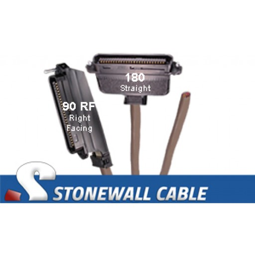 RJ21 Cable - Category 3 Telco 50 Male / Blunt