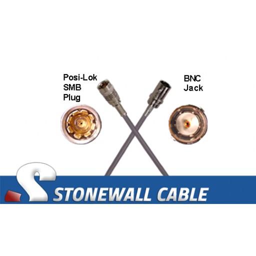 735A Cable SMB Plug / BNC Jack