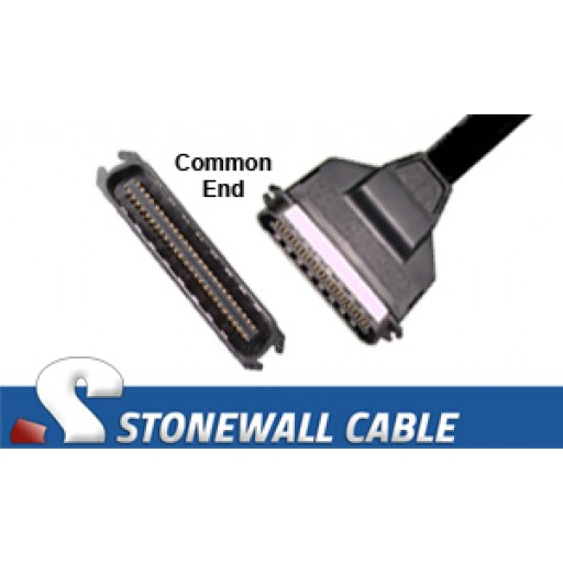"SCSI Centronics50 Male ""Y"" Cable"