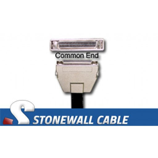 "SCSI MicroD-50 Female Latches ""Y"" Cable"