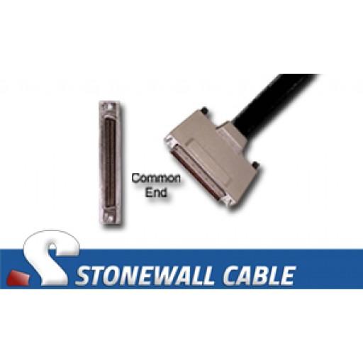"SCSI MicroD-68 Male Screws ""Y"" Cable"