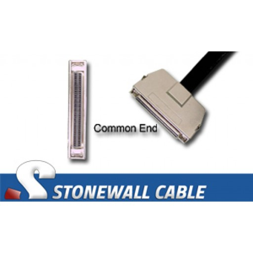 """SCSI MicroD-68 Female Latches """"Y"""" Cable"""