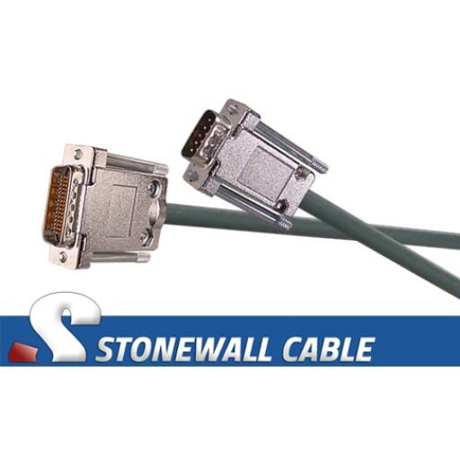 Modified CAB-232MC (DB9M) Eq. Cisco Cable