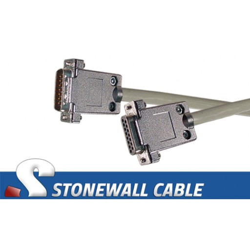X.21 Straight-thru Cable Male / Female