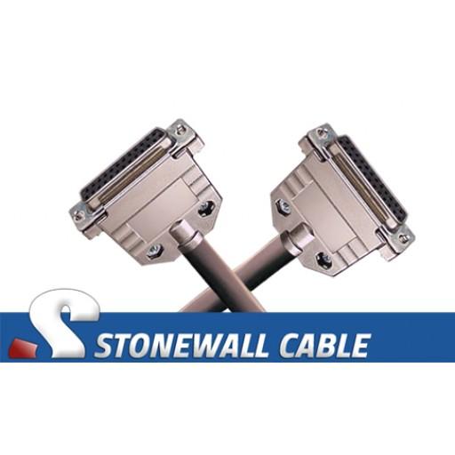 Custom Straight-thru Cable DB25FF