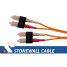 Multimode Duplex 62.5/125 SC / SC Fiber Cable